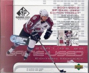2001-02 SP Game Used