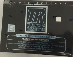2001-02 Topps Reserve