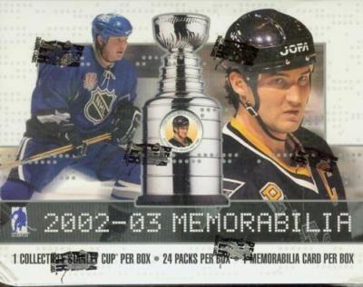2002-03 BAP Memorabilia