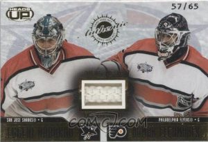 All-Star Game-Used Net Evgeni Nabokov, Roman Cechmanek