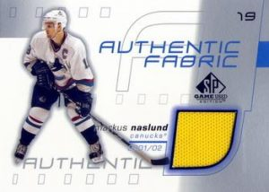 Authentic Fabric Markus Naslund