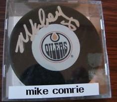 Auto Pucks Mike Comrie