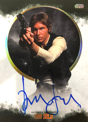Autographs Harrison Ford