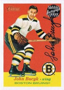 Autographs Johnny Bucyk