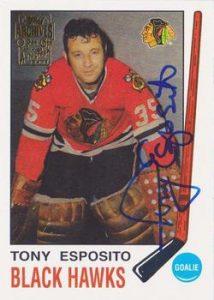 Autographs Tony Esposito