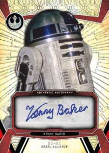 Autos R2-D2 Kenny Baker