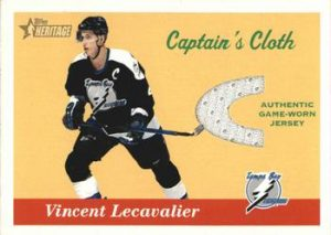 Captain's Cloth Vincent Lecavalier