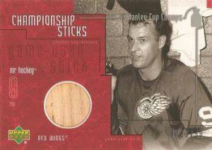 Championship Sticks Gordie Howe