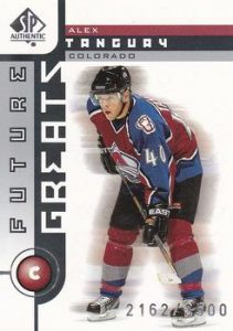 Future Greats Alex Tanguay