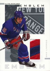 Game-Used Emblem Eric Lindros