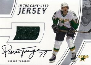Game-Used Jersey Autograph Pierre Turgeon