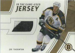 Game-Used Jersey Gold Joe Thornton