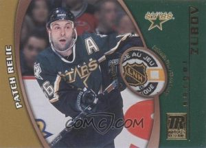 Game-Used Patch Sergei Zubov
