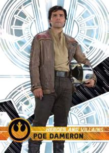 Heroes and Villains of the Force Awakens Poe Dameron