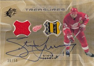 Hockey's Treasures Autographs Steve Yzerman