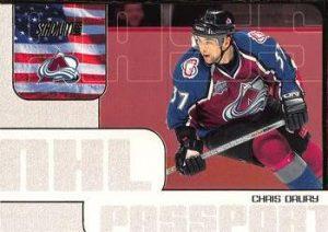 NHL Passport Chris Drury