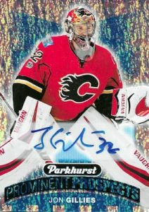 Prominent Prospects Auto Jon Gillies
