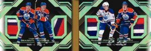 Quad Relic Booklet Oilers