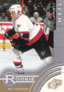 Rookies Chris Neil