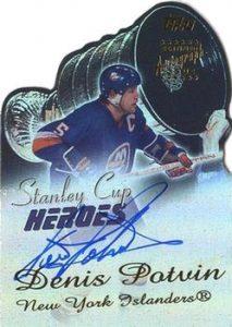 Stanley Cup Heroes Autographs Denis Potvin