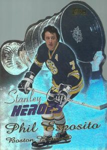 Stanley Cup Heroes Phil Esposito
