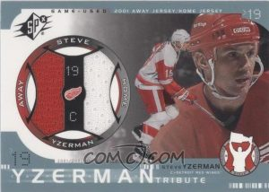 Steve Yzerman Tribute Jersey