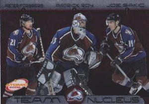 Team Nucleus Peter Forsberg, Patrick Roy, Joe Sakic