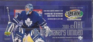 2001-02 UD Play Makers Limited