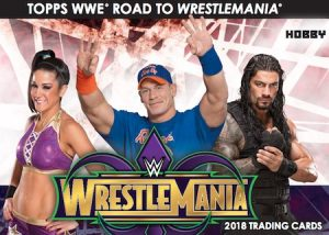 2018 Topps WWE Road to Wrestlemania