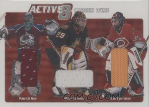 Active Eight Patrick Roy, Mike Vernon, Tom Barrasso