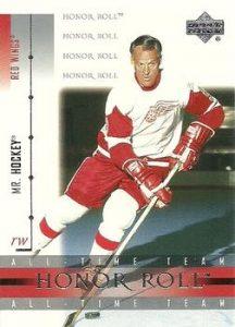 All-Time Team Base Gordie Howe