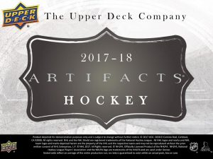 2017-18 UD Artifacts