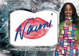 Autographed Kiss Cards Naomi