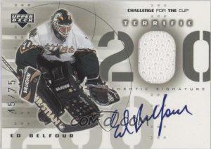 Autographed Terrific 200 Ed Belfour