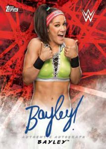 Autographs Bayley