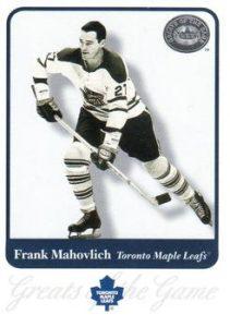Base Frank Mahovlich