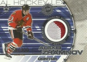 Dual Game-Worn Patches Front Alexei Zhamnov