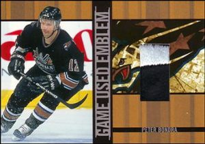 Game-Used Emblems Peter Bondra