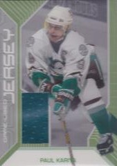 Game-Used Jersey Paul Kariya