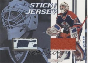 Goalie Stick and Jersey Grant Fuhr