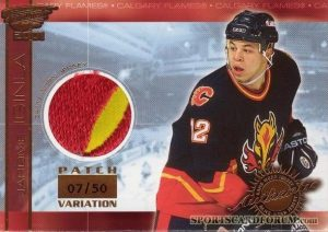 Game-Worn Patch Jarome Iginla