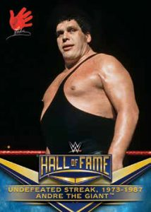 Hall of Fame Tribute Andre The Giant