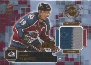 Jersey and Patch Front Jersey Joe Sakic