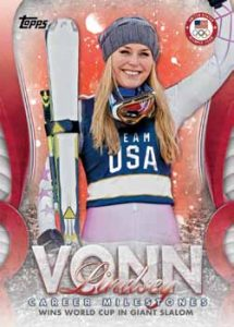Lindsey Vonn Career Milestones