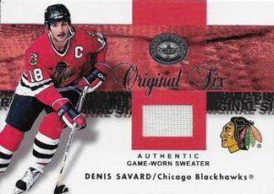 Original Six Jerseys Denis Savard