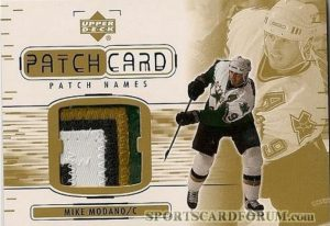 Patch Names Mike Modano