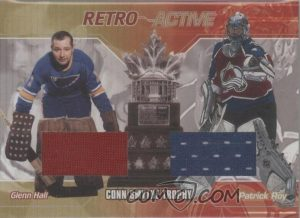 Retro Active Trophies Glenn Hall, Patrick Roy