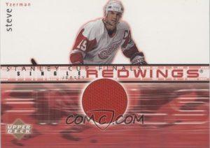 Stanley Cup Finals Jersey Steve Yzerman