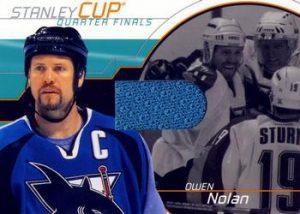 Stanley Cup Playoffs Owen Nolan