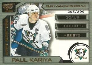 Stat Masters Assists Paul Kariya